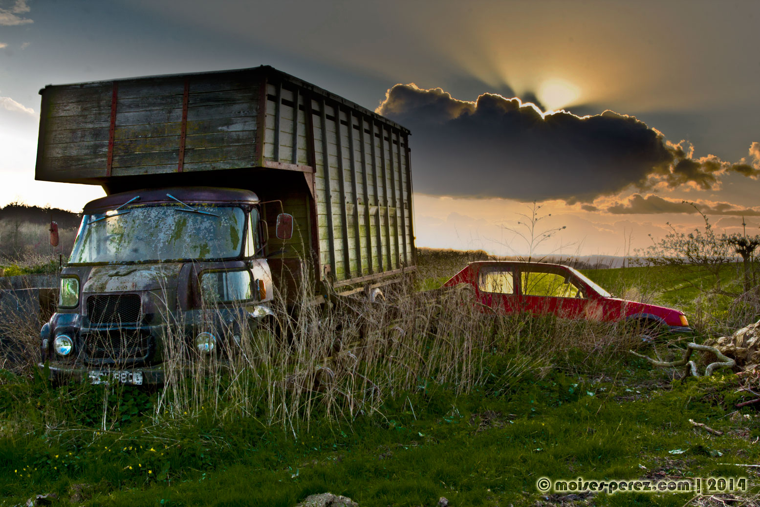 Abandoned Truck in England