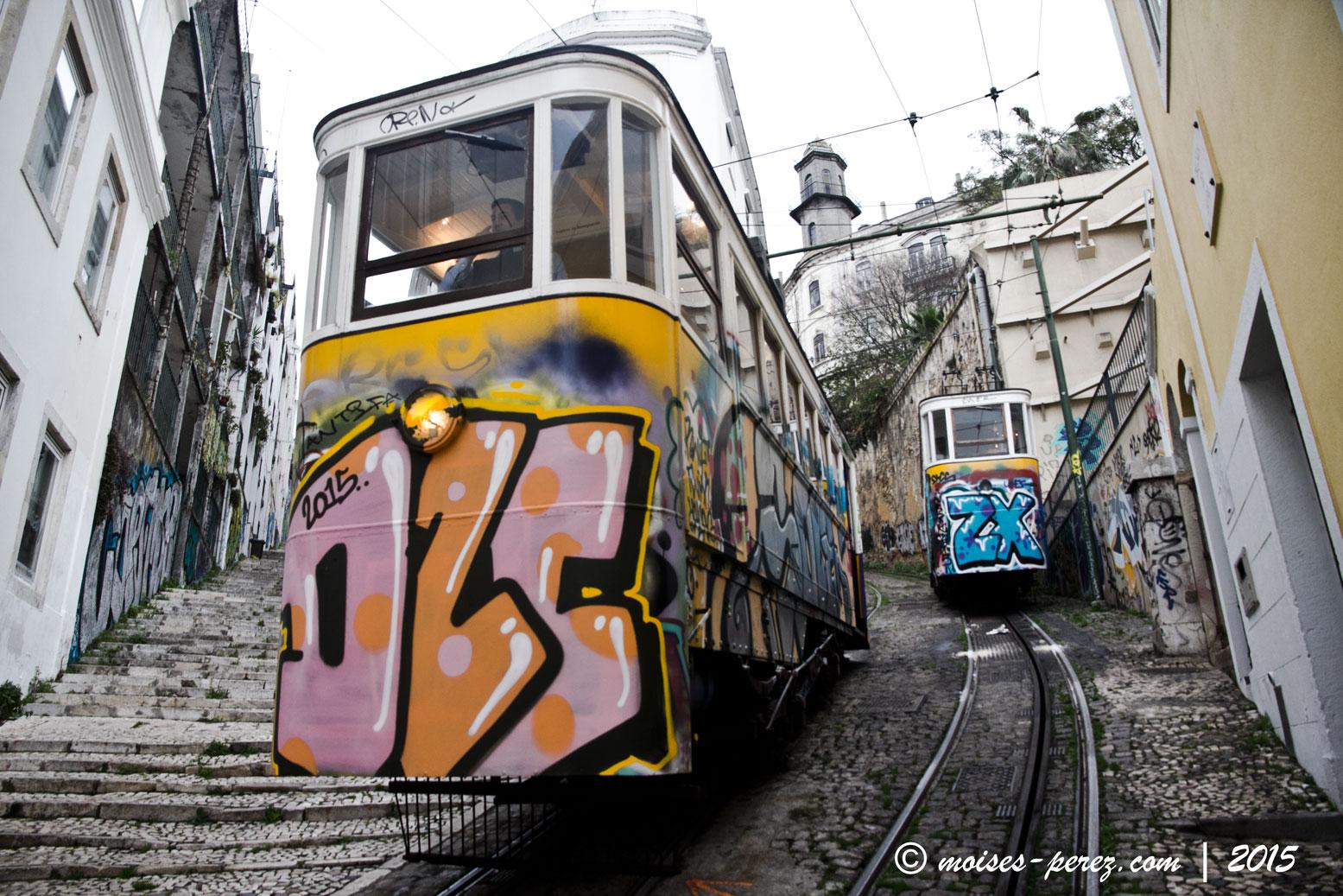 Tranvia of Lisbon